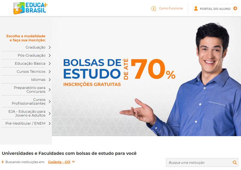 Acessar site Educa Mais Brasil 2022